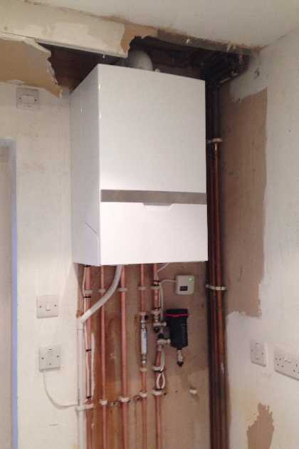 New Combi Boiler Installation in St Albans, Hertfordshire