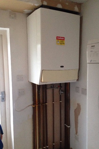 Combi Boiler Installation by iGas Heating in St Albans, Hertfordshire